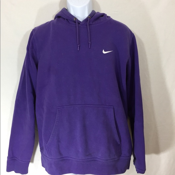 81c06e5866e Nike Club Swoosh Hoodie Purple Men s Size Large. M 5b7eab6d7ee9e203cd0fa7f6